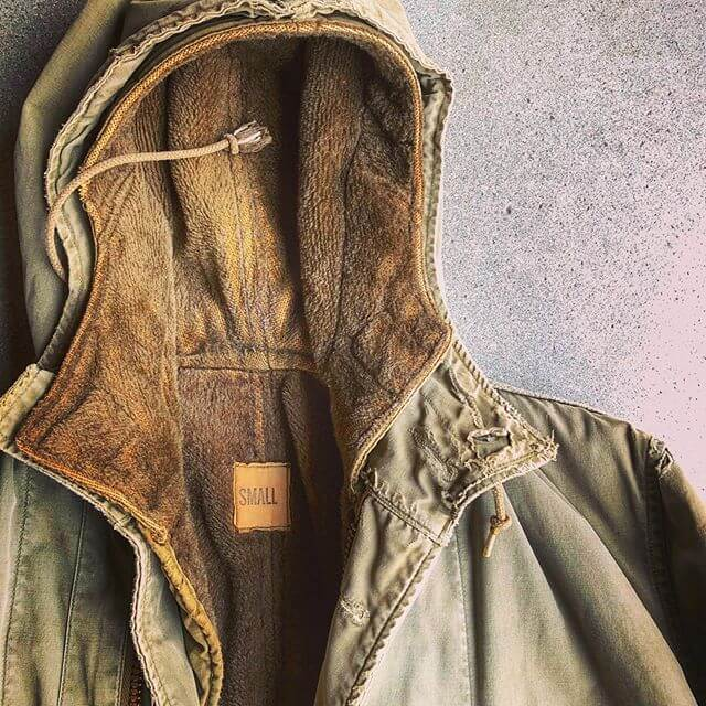 small hooded jacket
