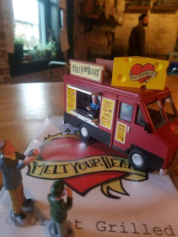 melt your heart grilled cheese mini toy trucks
