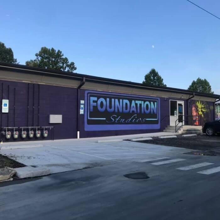 foundation studios entrance asheville nc
